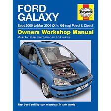 FORD GALAXY 2.3 BENZINA 1.9 DIESEL nel periodo 2000-2006 (X per 06 reg) Haynes Manuale Officina