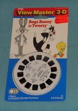 vintage BUGS BUNNY & TWEETY VIEW-MASTER REELS new/sealed on card