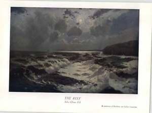 1930 Julius Olssen The Reef Art Print