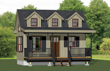20x10 Tiny House -- 281 sq ft -- PDF Floor Plan -- Model 2A