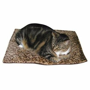 """Meow Town Thermal Cat Mat Bed (22""""x18"""") - Beige"""