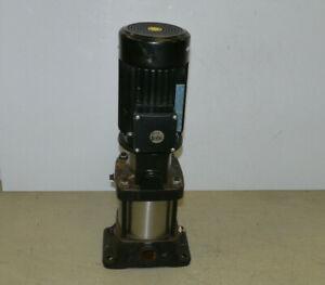Grundfos CR 4-50 A-A-A-BUBE Kreiselpumpe | 6m³/h, 2900 U/min | D41500005 P1 9603