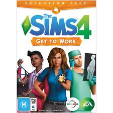 The Sims 4 Get To Work PC MAC *ORIGIN DOWNLOAD CODE* READ DESCRIPTION*