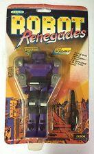 VINTAGE 1982 Remco Robot Renegades ZEBOK Figure Sealed MOC