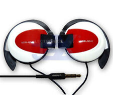 High Quality White & Red over Ear Earphones MP3/MP4