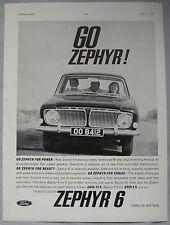 1962 Ford Zephyr 6 Original advert
