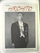 HIROHITO imperatore Giappone Seconda Guerra Mondiale I leaders Targa Italiana