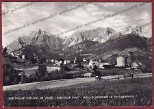 TORINO SAUZE D'OULX 15 SALICE D'ULZIO - COLONIA FIAT Cartolina FOT. viagg. 1953