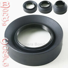 67mm 67 mm 3-Stage Rubber Screw Lens hood for Canon Nikon Sigma Sony camera lens
