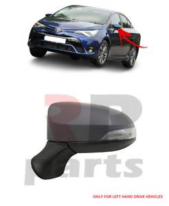 FOR TOYOTA AVENSIS 15-20 WING MIRROR ELECTRIC HEATING 7 PIN INDICATOR LEFT LHD