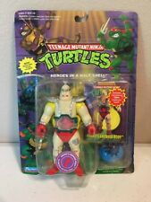 "1994 Teenage Mutant Ninja Turtles ""Krang's Android Body"" MOSC w/ Card TMNT"
