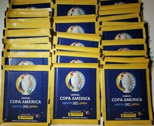 NEW Panini Copa America 2021 Argentina Colombia 60 Sealed Sticker Packs