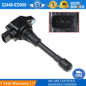 22448-ED000 Ignition Coil For Nissan Altima Rogue Sentra Versa Cube UF-549 New