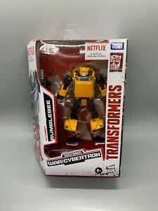 🔥 Hasbro Transformers War Cybertron NETFLIX Walmart BUMBLEBEE NIB! In Hand 🔥