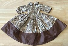 "Vintage 1950's Print Doll Dress fits 20"" Cissy, Dollikin, Revlon Same Sz  * 3 DY"