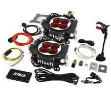 FiTech Fuel Injection 30064 Go EFI 2x4 1200HP Power Adder Black Throttle Body