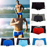 New Swimwear Men's Sexy Hot Boxers Swimming Cool Trunks Swim Shorts Beach Pants
