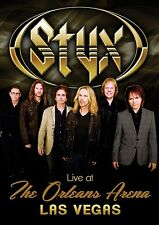 STYX New Sealed 2017 LIVE CONCERT IN LAS VEGAS & MORE DVD