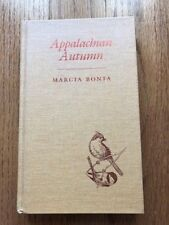 Appalachian Autumn by Marcia Bonta Signed by the Author HC
