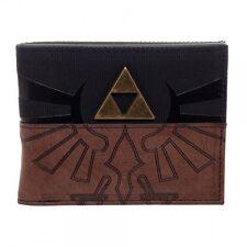 Nintendo The Legend of Zelda Officially Licensed Bifold Wallet NES Game Triforce