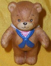 Adorable Porcelain Lucy Rigg Rigglets Teddy Bear Sailor Figurine 1979 Rare Cute!