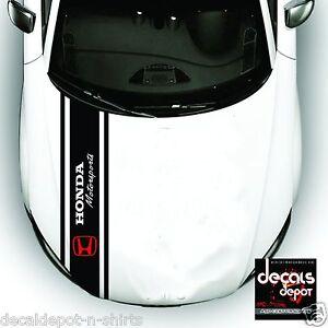 3X Whole Body Stripe Hood Top and Rear HONDA Cars, Civic Accord CR-V Fit CR-Z