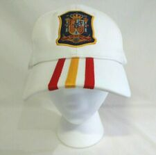 Spanish National Football RFEF Hat Cap FEF 3S Soccer White Adjustable Adidas