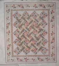 "Garden Twist Quilt Fabric Kit -KING  92"" x 111 1/2"" - Using Timeless Treasures"