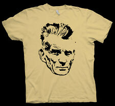 Samuel Beckett T-Shirt Charles Bukowski William S. Burroughs Albert Camus author