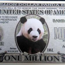 Panda FREE SHIPPING! Million-dollar novelty bill