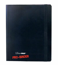Black Ultra Pro Binder Collector Card Storage Album Folder 20 x 4-Pocket Pages