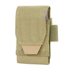CONDOR MOLLE Nylon TECH SHEATH PLUS Smart Phone Case Battery Pouch 191085 TAN