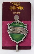 Wizarding World Of Harry Potter Slytherin Head Girl Pin Universal Studios