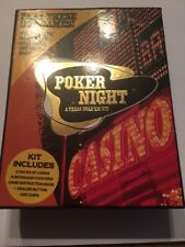 Poker Set Kit 2 Card Deck 500 Dices Storage Case High Quality