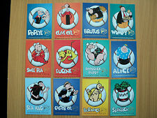 Popeye Character Foil Cards $1 EACH CARD clearance sale