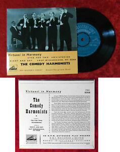 EP The Comedy Harmonists (HMV 7EG 8268) UK 1958