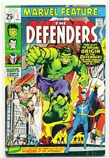 1971 Marvel Feature The Defenders #1. Origin and 1st App. Of The Defenders!