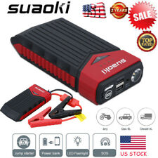 Suaoki 12000mAh Car Jump Starter Booster Portable Battery Charger Power Bank New