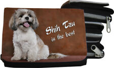 SHIH TZU - GELDBÖRSE Brieftasche Portmonee 12x8cm Textil - STZ 04