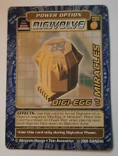 Digi-egg of MiraclesBo-161 Digimon Collectible Card Game (Ccg) 1999-2002