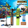 Portable 5pcs SMACO Mini Scuba Diving Spare Oxygen Cylinder Air Tank Equipment