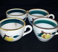 Stangl four cups Fruit Pattern