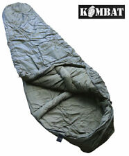 Army Combat Military Camping Lightweight Travel Modular Mummy Sleeping Bag Green