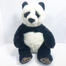 "FAO Schwartz Panda Bear 17"" Plush TOYS R US 2012 Stuffed Animal Toy"