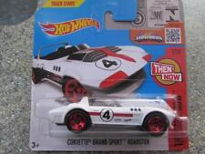 Hot Wheels 2016 #102/250 CORVETTE GRAND SPORT ROADSTER white Then and Now Case B