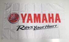Yamaha Style 3 Banner Flag - Motorbike Racing Car Quad Bike Road Project Parts