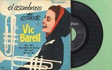 VIC BARELL / The Sheik Of Araby, Di Do / DISCOPHON 17.013 Press Spain 1960 EP VG