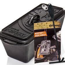 PETROMAX EN FORME DE Bloc K4 pot au feu Moule à pain incl. lève-couvercle &