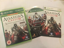 XBOX 360 GAME ASSASSIN'S CREED II GAME OF THE YEAR GOTY EDITION COMPLETE PAL GWO