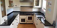 Used Kitchen with black Granite Worktops